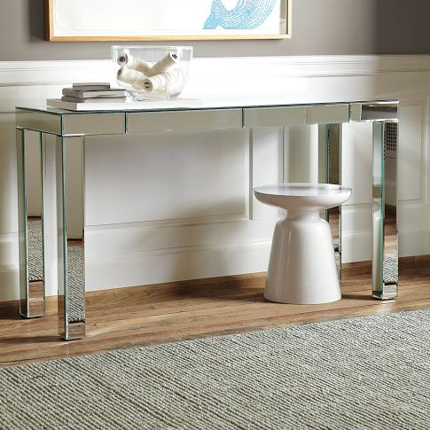 West Elm Parsons Mirror Console $599 http://www.westelm.com/products/parsons-mirror-console-g199/?pkey=cconsole-tables&cm_src=console-tables||NoFacet-_-NoFacet-_--_-