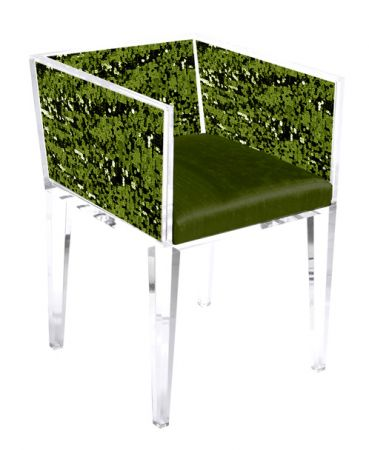 Green Sequin Chair from http://www.floralartla.com/