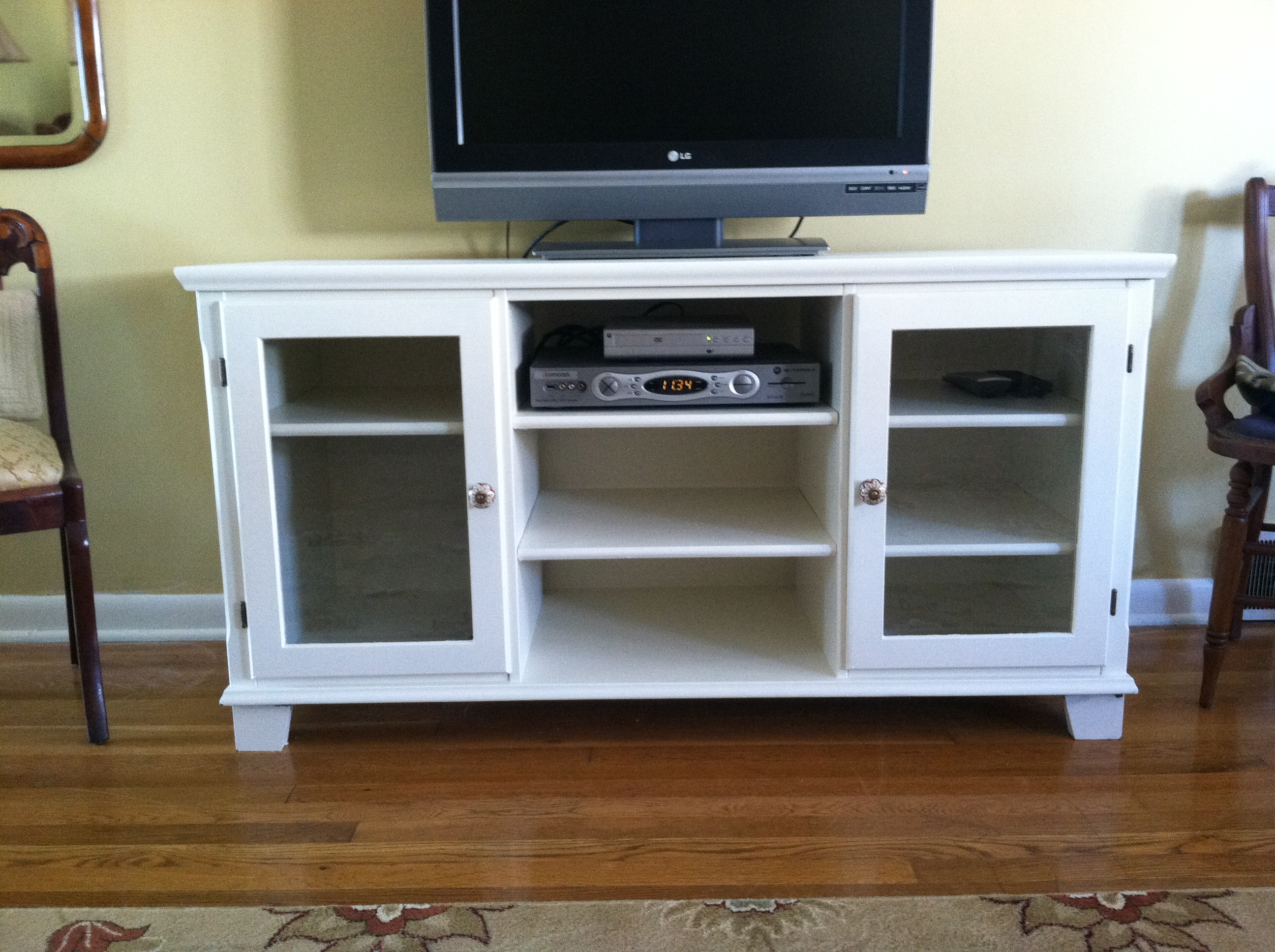 Project #1 TV Stand After